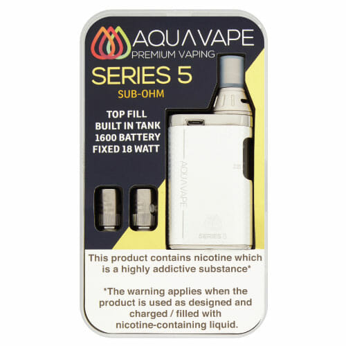 AquaVape-Series-5-Silver