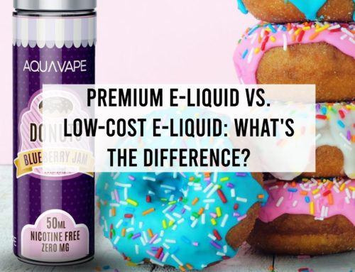 Premium E-Liquid vs. Low-Cost E-Liquid: What's the Difference?