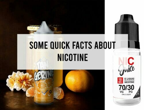 Some Quick Facts about Nicotine