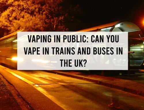 Vaping in Public: Can you Vape in Trains and Buses in the UK?