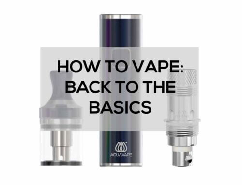 How to Vape: Back to the Basics