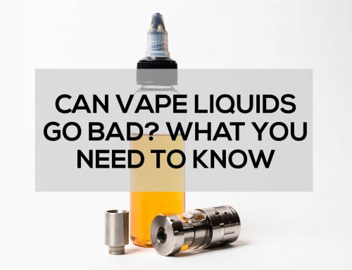 Can Vape Liquids Go Bad? What You Need To Know